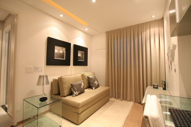 H gesso solu es em gesso for Pintura para apartamentos modernos